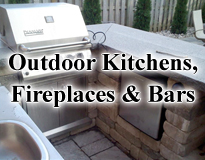 Outdoor Kitchens, Fireplaces and Bars